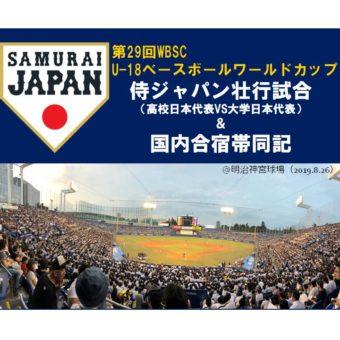 甲子園大会&U18侍JAPAN~国内合宿参加報告~